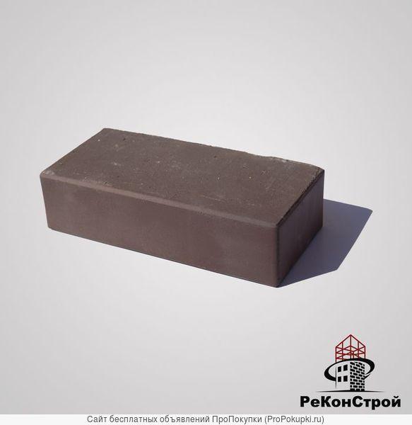 Кирпич печной, лицевой, полнотелый TIBET, шоколад, М-300