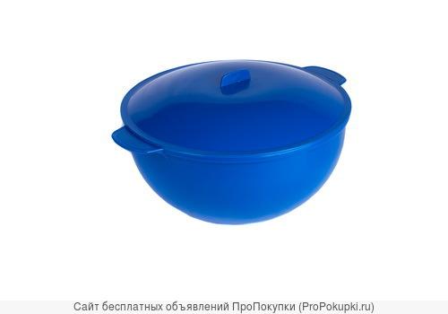 Пластмассовая супница для горячих блюд