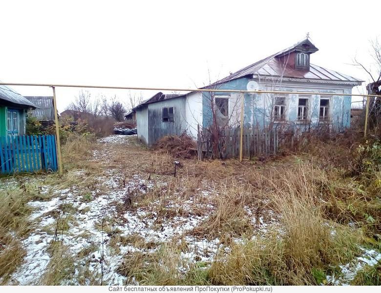 Дом 42,5 м2 с земельным участком 28 соток в Перевозском р-не