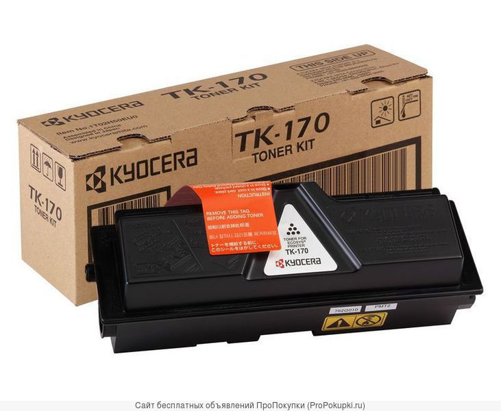 Заправка Kyocera TK-170 для FS-1320, FS-1370, ECOSYS P2135