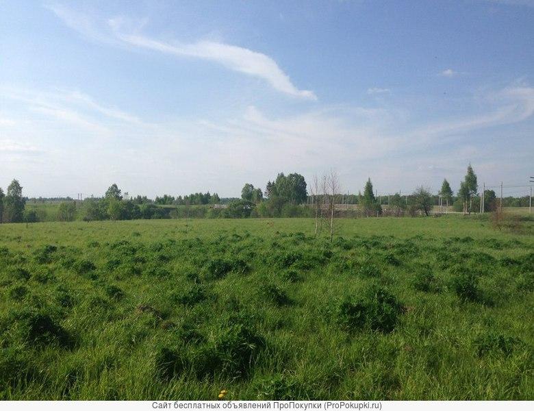 Зем.участок 11 соток, ИЖС, в близи озера и леса