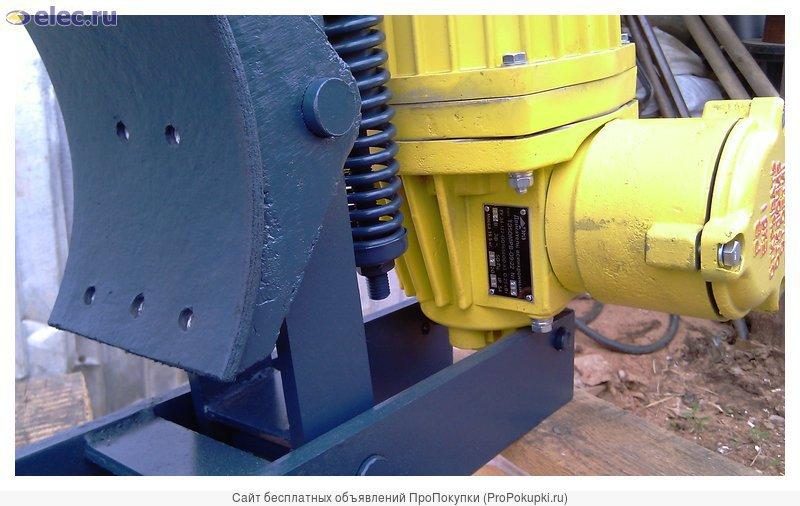 Тормоз колодочный взрывозащищенный ТКГ-300РВ с ТЭ-50МРВТ
