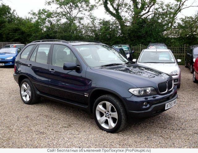 BMW X5, E 53, 2005 Г. В., Рестайлинг, N62 (4.4 i), АКПП, 4WD