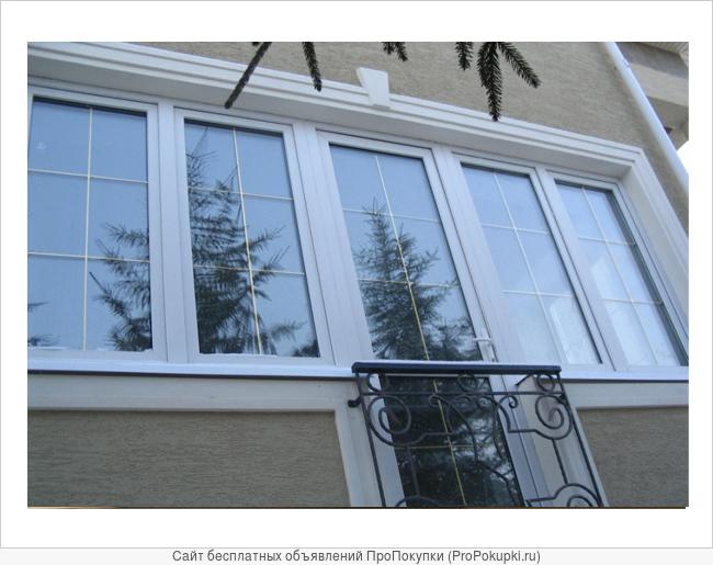 Окна пластиковые. Остекление балконов, лоджий.