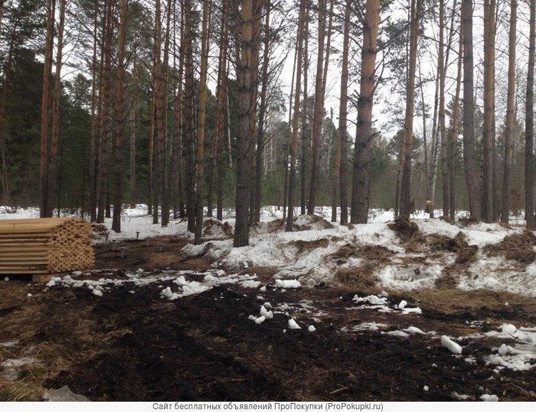 Продам земельный участок в Томском районе по адресу пос. Некрасово