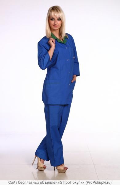 Рабочая спецодежда, костюм женский рабочий