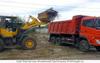 Уборка и вывоз строительного мусора, грунта