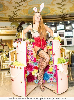 Поздравление - танцовщица из торта