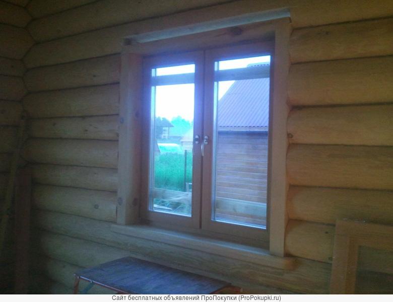 Окосячка обсада шлифовка конопатка полы потолки . плотники
