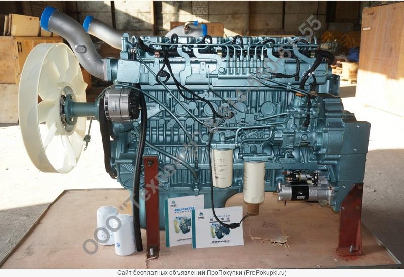 Двигатель Sinotruk D12.42-30 Евро-3 для HOWO A7