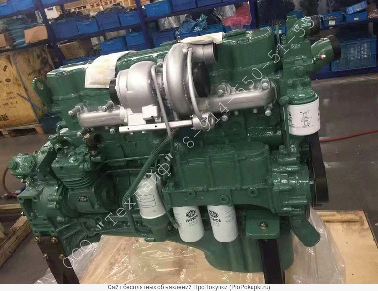Двигатель FAW CA6DL2-35 Евро-2