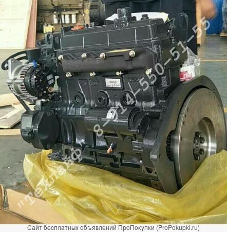 Двигатель cummins a2300 для погрузчика doosan daewoo 440
