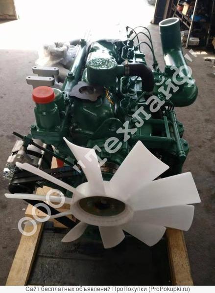 Двигатель faw ca6110/125t-2g2 для комбайна john deere 3316