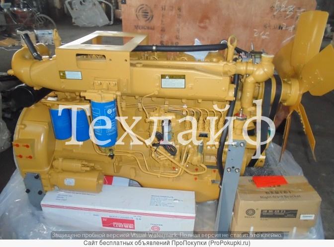 Двигатель weichai wd10g220e11 евро-2 на xcmg zl50g