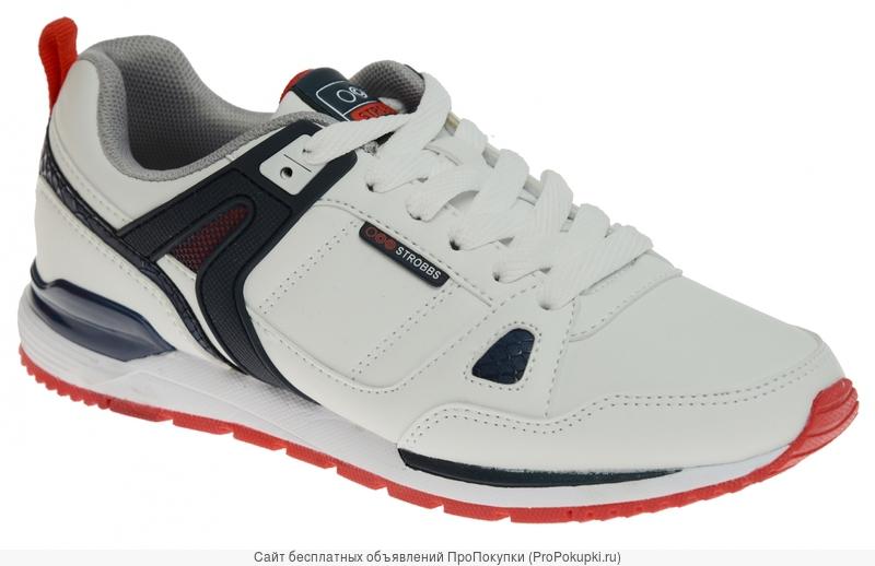 Strobbs. Кроссовки подросковые F6390 белые