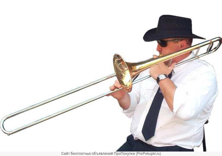 Для игры на тромбоне-ноты с фонограммами
