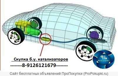Куплю автомобильные катализаторы б.у