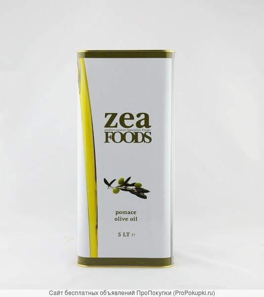 Рафинированное греческое оливковое масло ZEA - 5л