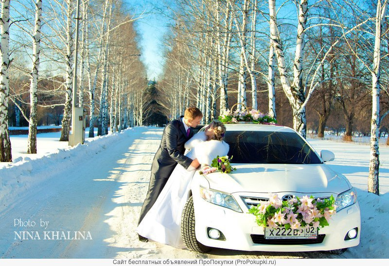 Свадебные украшения для авто в Уфе, аренда